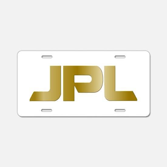 JPL @ 50! Aluminum License Plate
