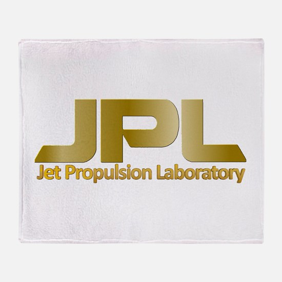 NASA's JPL @ 50 Throw Blanket