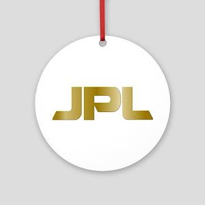 JPL Logo Round Ornament