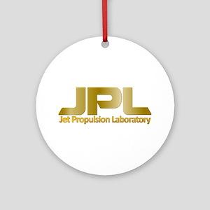 Nasa's JPL Round Ornament