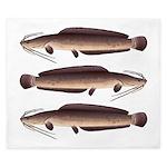 African Sharptooth Catfish King Duvet