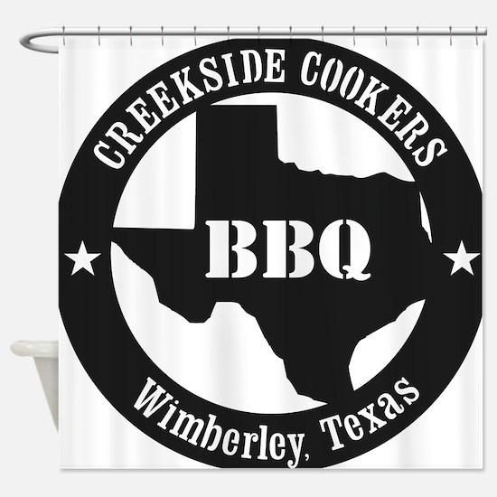 Unique Texas bbq Shower Curtain