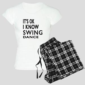 It is ok I know Swing dance Women's Light Pajamas