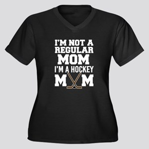 I'm Not a Regular Mom, I'm a Hoc Plus Size T-Shirt