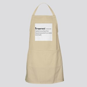 Front Center Design Only BBQ Apron