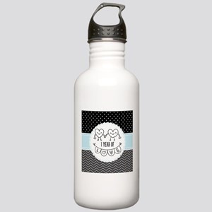 1st Anniversary Gift F Stainless Water Bottle 1.0L