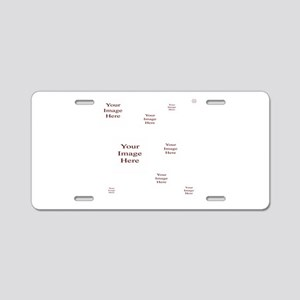 Your Images Here! Aluminum License Plate