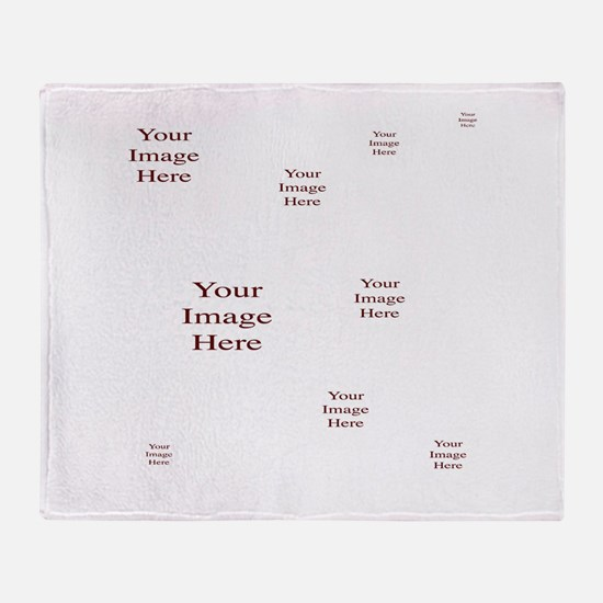 Your Images Here! Throw Blanket