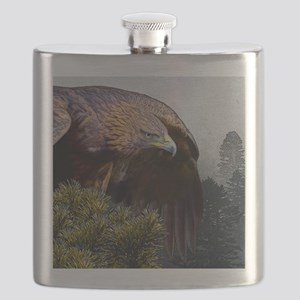 Golden Eagle Flask