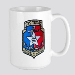 USS TEXAS Large Mug