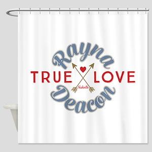 Rayna Deacon True Love Nashville Shower Curtain