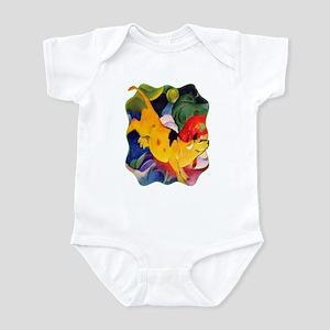 Yellow Cow Infant Bodysuit