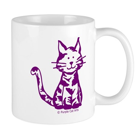 Purple Cat Mugs