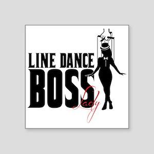 Line Dance Boss Lady Style 1 Sticker