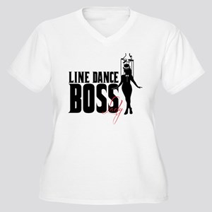 Line Dance Boss Lady Style 1 Plus Size T-Shirt