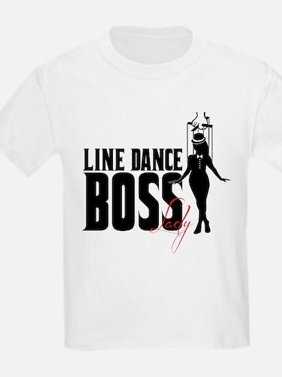 Line Dance Boss Lady Style 1 T-Shirt