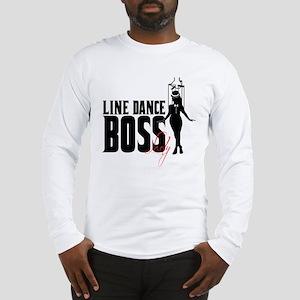 Line Dance Boss Lady Style 1 Long Sleeve T-Shirt