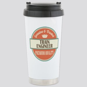 train engineer vintage Stainless Steel Travel Mug