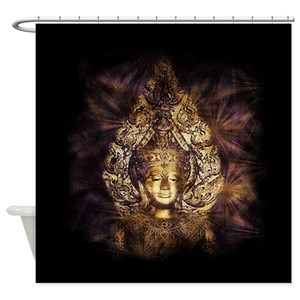 Buddha Buddhist Buddhism Shower Curtains