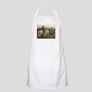 The knight at the crossroads Apron