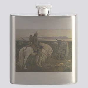 The knight at the crossroads Flask