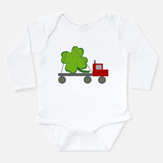 Unique Leprechaun st patricks Long Sleeve Infant Bodysuit