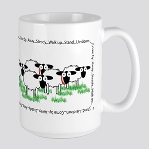 Working Border Collie & Sheep Mugs