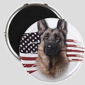 Patriotic German Shepherd Magnets