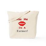 Kiss Me Farmer Tote Bag