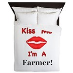 Kiss Me Farmer Queen Duvet
