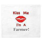 Kiss Me Farmer King Duvet
