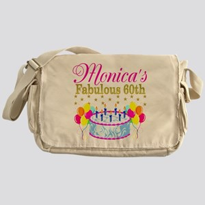 SNAZZY 60TH DIVA Messenger Bag
