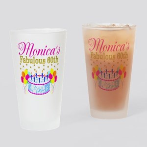 SNAZZY 60TH DIVA Drinking Glass
