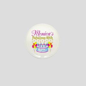 SNAZZY 60TH DIVA Mini Button