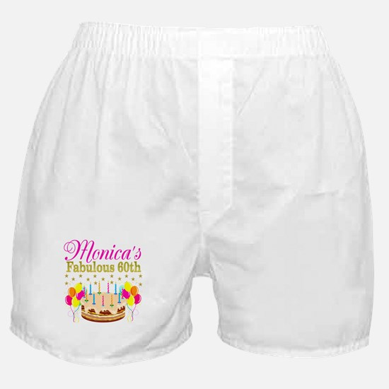 SNAZZY 60TH DIVA Boxer Shorts