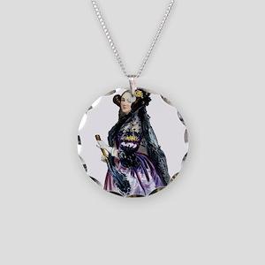 ada lovelace Necklace Circle Charm