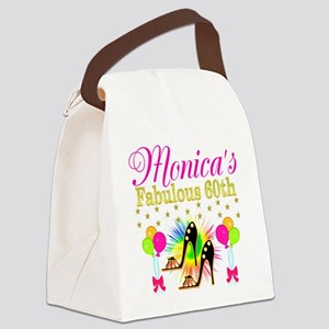 STYLISH 60TH Canvas Lunch Bag