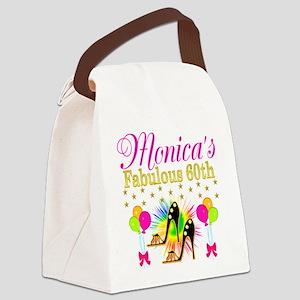 STYLISH 60TH Canvas Lunch Bag