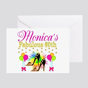60 years old greeting cards cafepress stylish 60th greeting card m4hsunfo