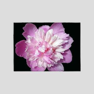 Pink Peony 5'x7'Area Rug
