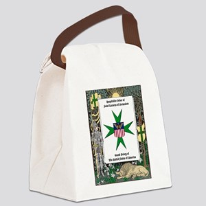 HOSLJ GP Logo & Border 11X14 Canvas Lunch Bag