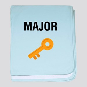 Major Key baby blanket