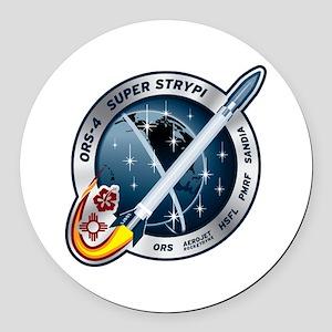 Super Strypi (SPARK) Logo Round Car Magnet