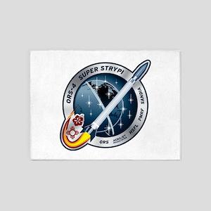 Super Strypi (SPARK) Logo 5'x7'Area Rug