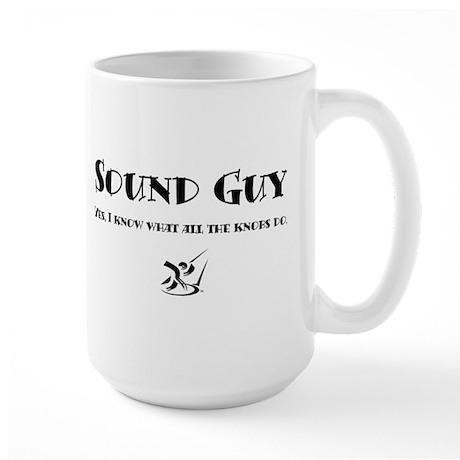 Sound Guy Large Mug