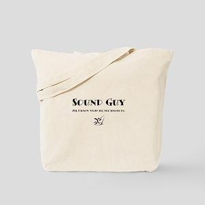 Sound Guy Tote Bag