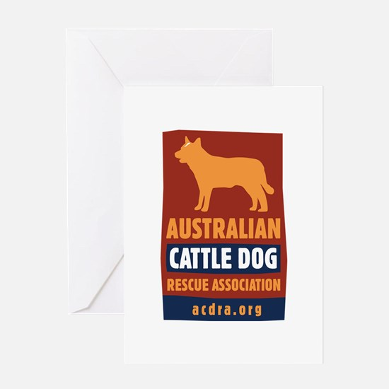 Unique Cattle dog rescue Greeting Card
