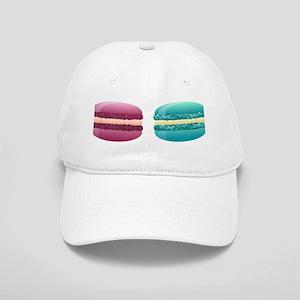 rainbow macarons Cap