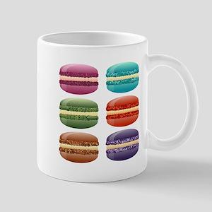 rainbow macarons Mugs