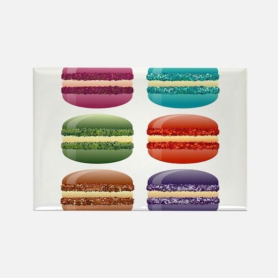 rainbow macarons Magnets
